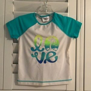 Old Navy Rash Guard Top for Girls